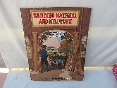1925 Sears Roebuck & Co. / Original Building Material & Millwork Catalog