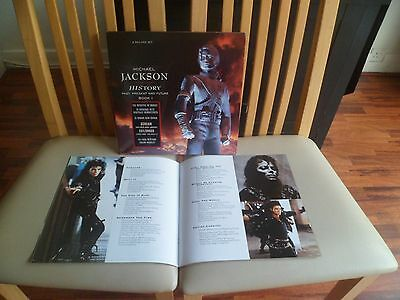 MICHAEL JACKSON - History Past, Present And Future Book 1 - EPIC 1995 3 X LP EX
