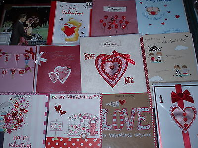 200 *  Valentine cards ~ top quality cards ~ great mix!