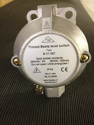 TRIMOD BESTA: MAGNETIC LEVEL SWITCH  Type: B 01 091 ** price reduced**