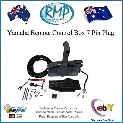 A Brand New Aftermarket 703 Side Mount Yamaha Remote Control Box 7 Pin Plug R