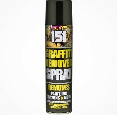 x1 300ml Graffiti Remover Aerosol Can Chewing Gum, Pen, Spray Paint, Crayon 151.