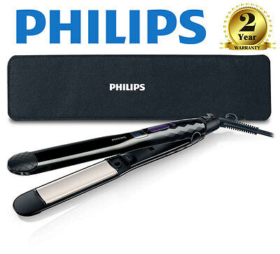 Philips Care Straight & Curl Hair Straightener Ceramic Electric Ionic HP8345/03