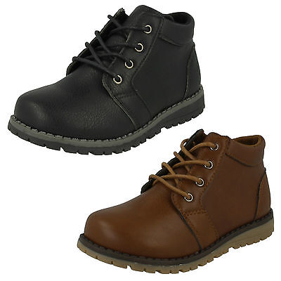 WHOLESALE Boys Ankle Boots / Sizes 5x12 / 18 Pairs / N2042