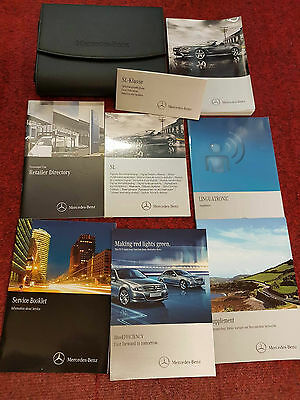 Mercedes-Benz Sl-Class Owners / Operator's Manual Handbook Oem 2013