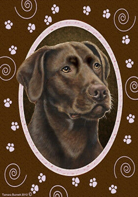 Large Indoor/Outdoor Paws Flag - Chesapeake Bay Retriever 17070