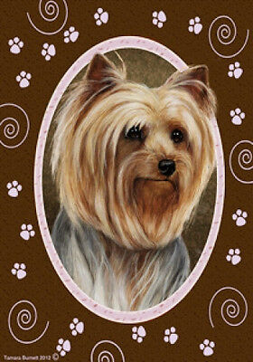 Large Indoor/Outdoor Paws Flag - Yorkshire Terrier Yorkie 17010