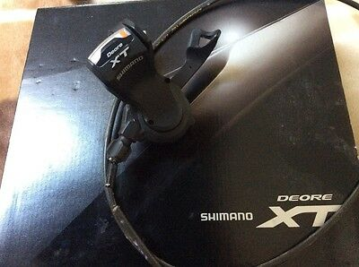 Shimano Deore XT 3 speed front gear shifter