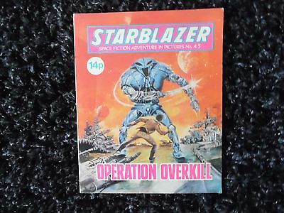 Starblazer Space Fiction In Pictures No 45