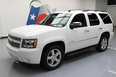 2013 Chevrolet Tahoe LTZ Sport Utility 4-Door 2013 CHEVY TAHOE LTZ 7-PASS SUNROOF NAV DVD 20'S 49K MI #166394 Texas Direct