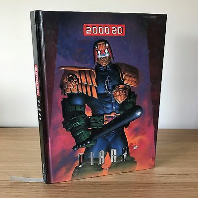 2000 AD Diary Hardback Book Hamlyn Comic Judge Dredd