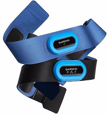 NEW Garmin Heart Rate Monitor Straps - HRM-Tri and HRM-Swim Accessory Bundle