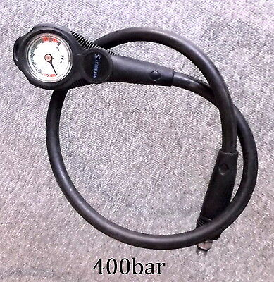 Scuba diving submersable pressure gauge 400bar made by MEGASPORT italy
