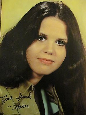 Marie Osmond, The Osmonds, Jimmy Osmond, Double Full Page Vintage Pinup