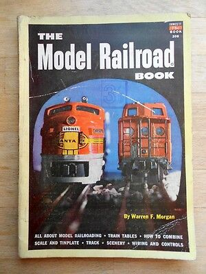 The Model Railroad Book 1953 book - trains tracks scenery tables wiring