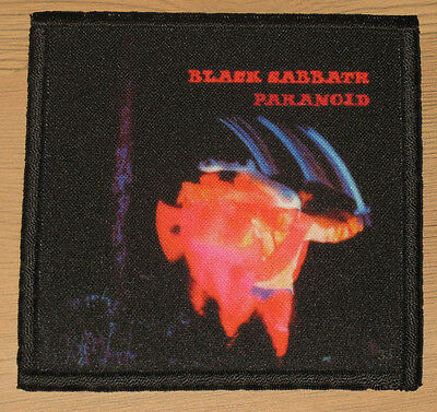 "BLACK SABBATH ""PARANOID"" silk screen PATCH"