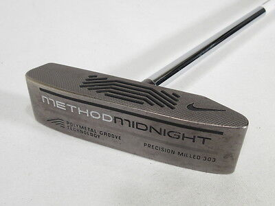"""Nice! NIKE METHOD MIDNIGHT 007 MILLED 33"""" CENTER SHAFTED PUTTER"""