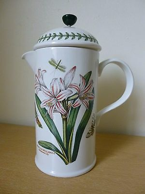 Portmeirion Botanic Garden Cafetiere or Coffee Pot - Belladonna Lily 1st Quality