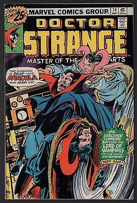 Doctor Strange #14 VG 4.0 Off White Pages