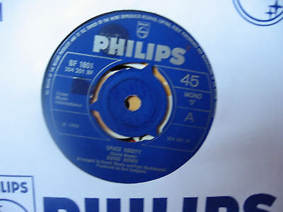 "David Bowie ""space Oddity"" 1969 Philips Bf 1801"