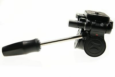 CNC Replacement Fluid Camera Tripod Head 3 Way Pan & Tilt with Quick Release