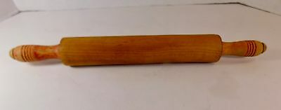 Vintage Rolling Pin, Red Handles - Lot 2