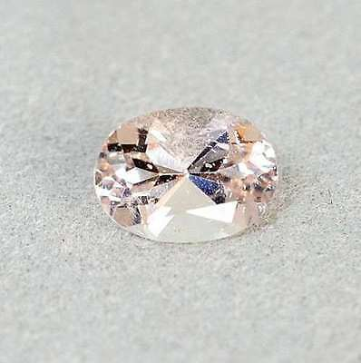 0.81 Ct Pink Brazil Morganit Oval Facet