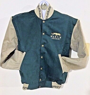 "Martin Archery ""Kyta Make Co."" Dual Lined Denim Winter Jacket MEN'S SMALL"