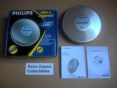 Philips AX2330 Portable CD Player - Boxed + instructions - FREE U.K.POSTAGE