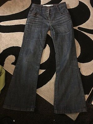 Ladies Next High Waisted Jeans Size 10 R
