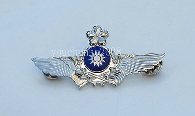 The Badge Of The Chinese Army Aviation Flight Badge Silver-33163