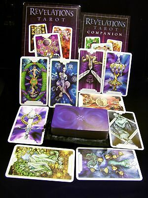 Brand New! Vibrant Revelations Tarot Card & Book Oracle Magnetic Box Beautiful!!