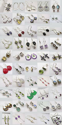 Wholesale Lot! 925 Silver Earrings! 50 Lovely Pairs!