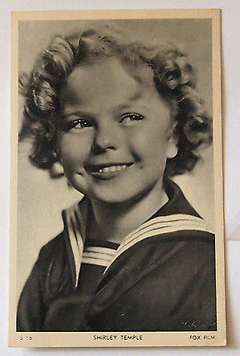 "Carte Postale ancienne ""Shirley Temple"""
