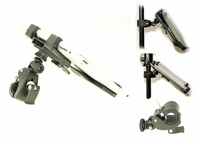 """Ex-Pro® iPad/Tablet 7-10"""" Music / Mic Stand Mount Clamp System"""
