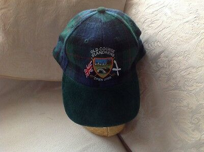 2000, 17 Year Old Golfer's Present. St.andrew's Old Course Golf Cap.
