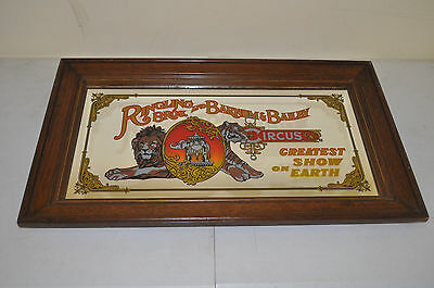 1970's Ringling Bros. and Barnum & Bailey Circus Mirror Greatest Show on Earth