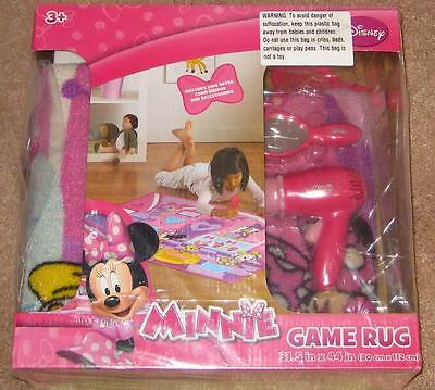 MINNIE MOUSE AND DAISY DUCK RUG Pet Salon Pink Girls Room Game Hair Dryer
