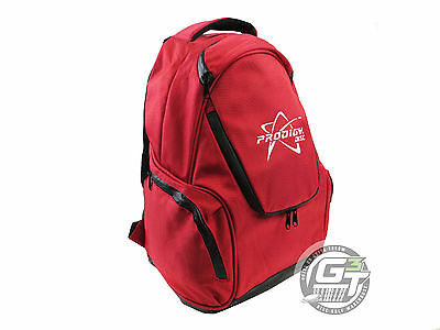 NEW Prodigy Discs BP-3 Small Backpack Disc Golf Bag - RED
