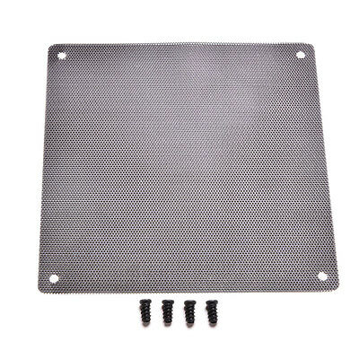 120mm PC Computer Dustproof Cooler Fan Case Cover Dust Filter Mesh With 4Screws!