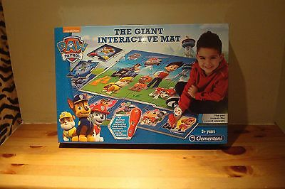 Paw Patrol Brand New And Boxed The Giant Interactive Mat 3 Years Plus