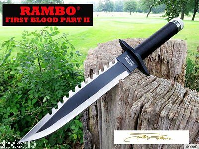 Rambo 2 Messer FIRST BLOOD PART II Bowie Hunting Knife  Machete Macete Coltello