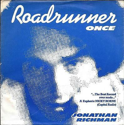 JONATHAN RICHMAN and the MODERN LOVERS 45 ROADRUNNER+PS HOLLAND RARE EXCELLENT