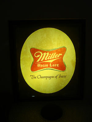 Vintage Miller High Life The Champagne Of Beers Sign