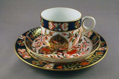 OUTSTANDING ROYAL CROWN DERBY 198 IMARI PATTERN TRIO c.1890's - PERFECT