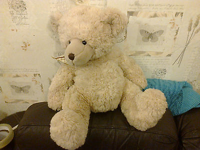 Nestle Rowntree Beige Teddy Bear Plush 43Cm 17 Inches High New