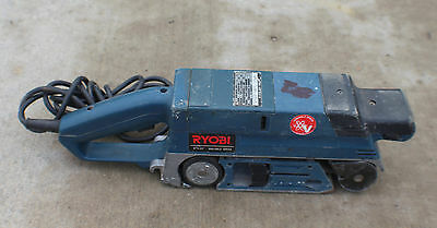 """RYOBI BE-321 3"""" x 21"""" CORDED ELECTRIC VARIABLE SPEED BELT SANDER 6A"""