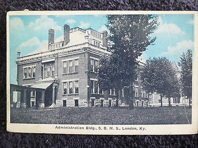 1921 Administration Building, S.B.M.S. in London, Ky Kentucky PC