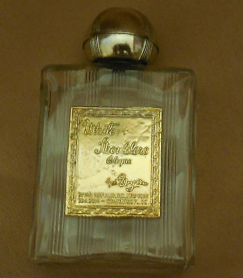 VINTAGE White Shoulders Cologne By Evyan Empty Perfume BOTTLE