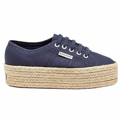 Superga 2790 Cotropew Navy Womens Trainers